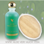 Forever Living Products Bath Gelee and Loofah